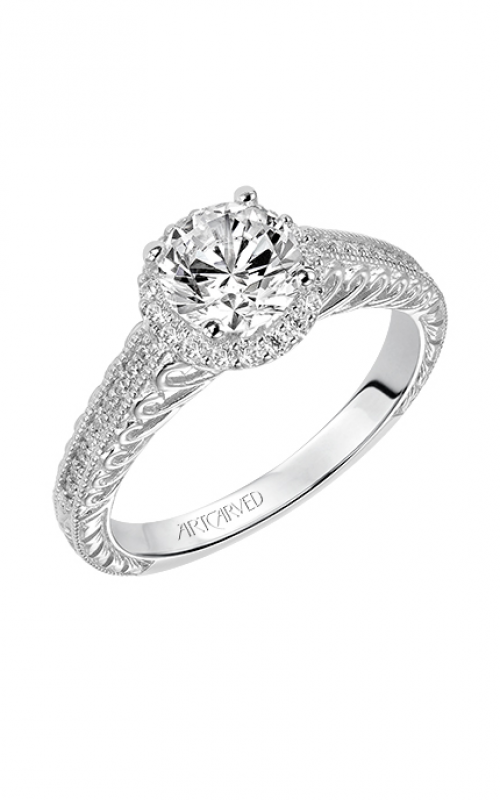 ArtCarved Vintage Engagement ring 31-V530ERW-E product image