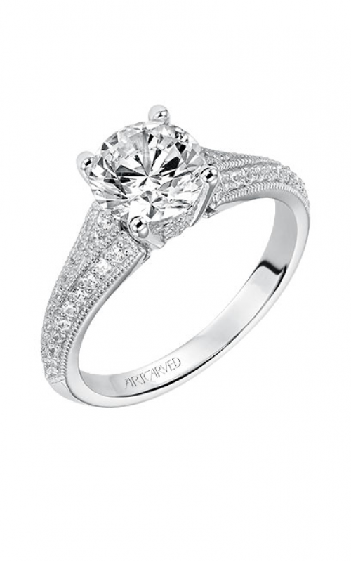 ArtCarved Vintage Engagement ring 31-V535GRW-E product image