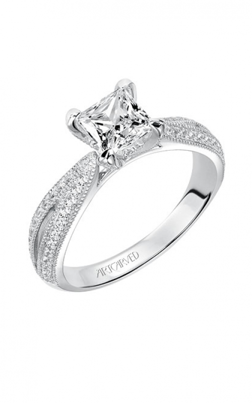 ArtCarved Vintage Engagement ring 31-V537ECW-E product image