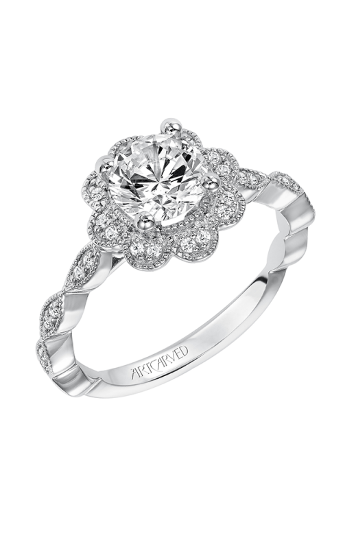 ArtCarved Vintage Engagement ring 31-V567ERW-E product image