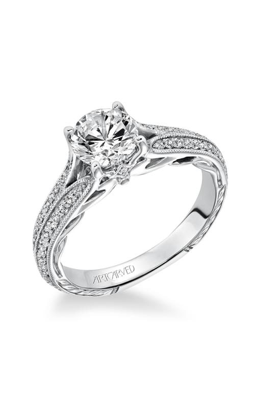 ArtCarved Vintage Engagement ring 31-V620ERW-E product image