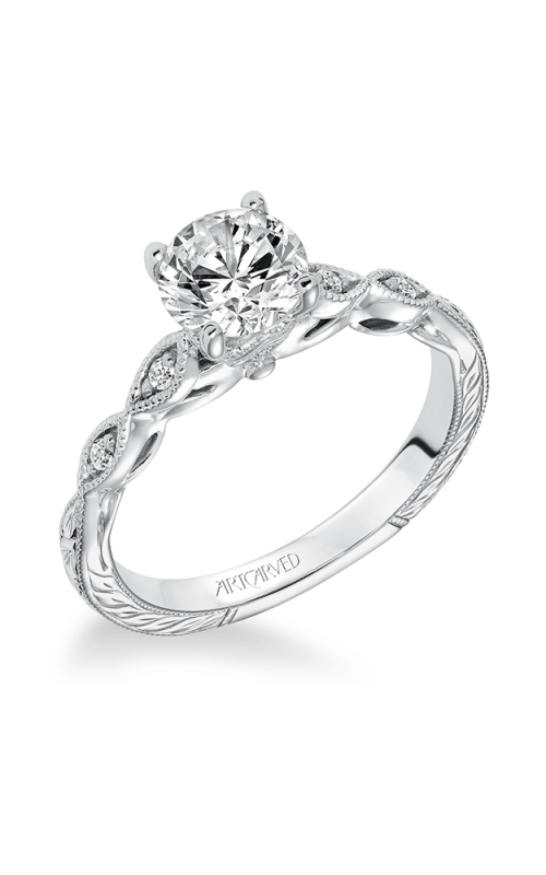ArtCarved Vintage Engagement ring 31-V625ERW-E product image