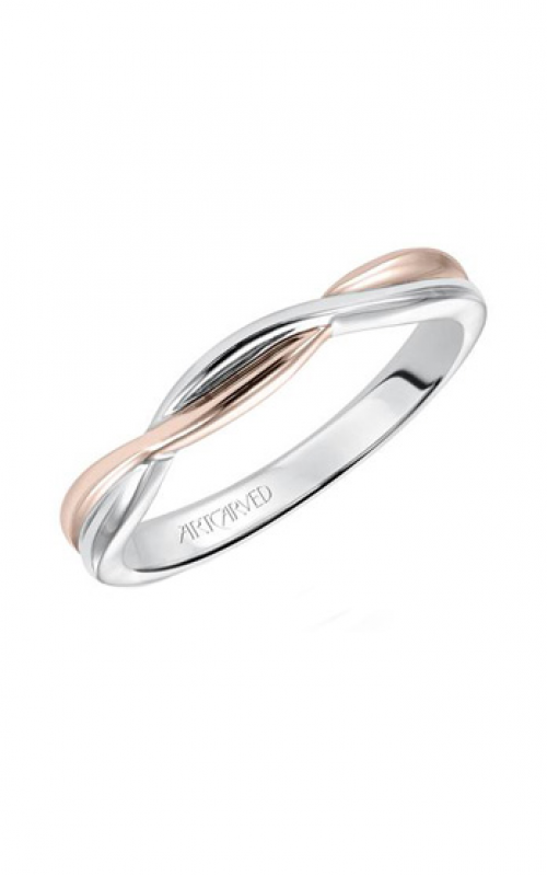 ArtCarved Contemporary Wedding band 31-V153R-L product image