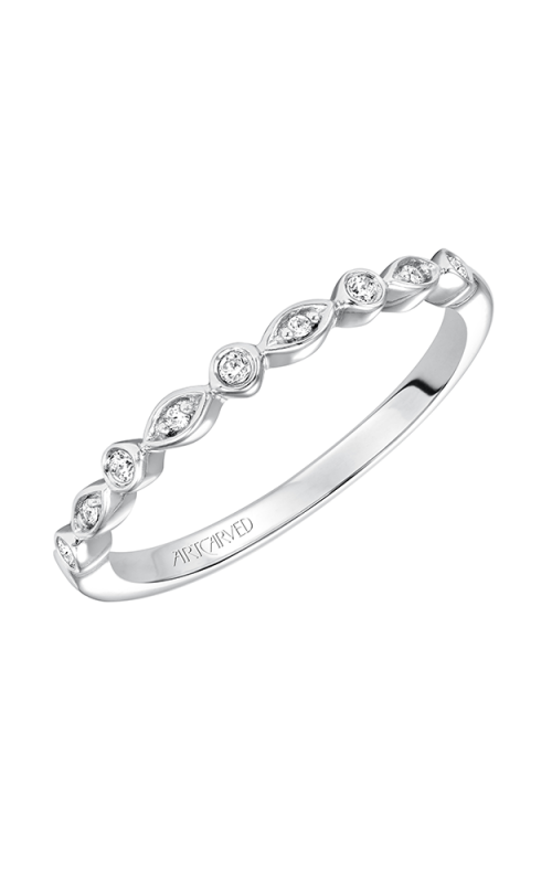 ArtCarved Contemporary Wedding band 31-V563W-L product image