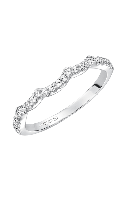 ArtCarved Contemporary Wedding band 31-V566W-L product image