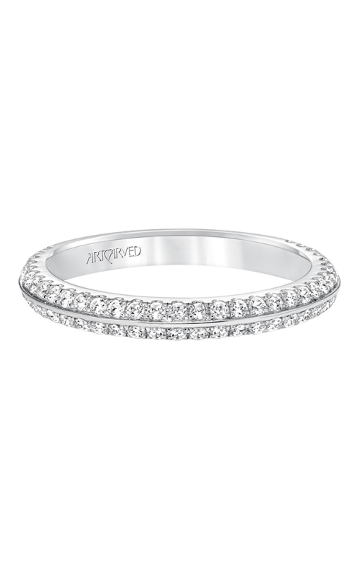 ArtCarved Contemporary Wedding band 31-V592W-L product image