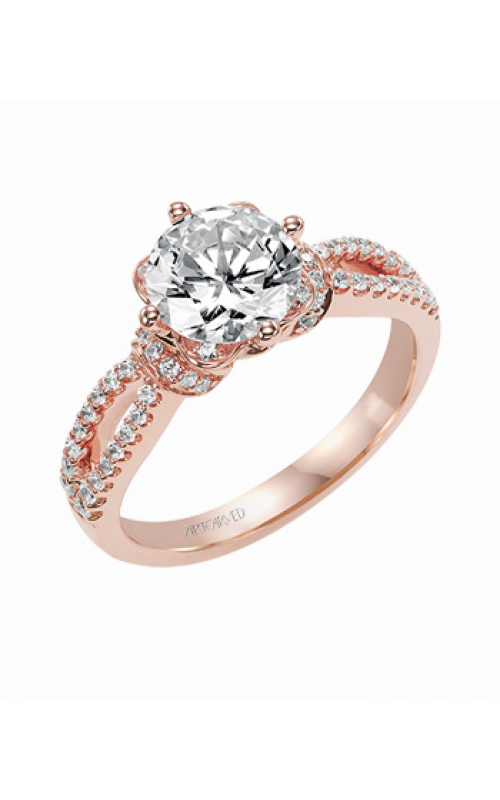 ArtCarved Contemporary Engagement ring 31-V337GRR-E product image