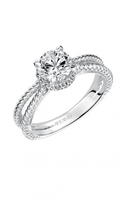 ArtCarved Contemporary Engagement ring 31-V546ERW-E product image