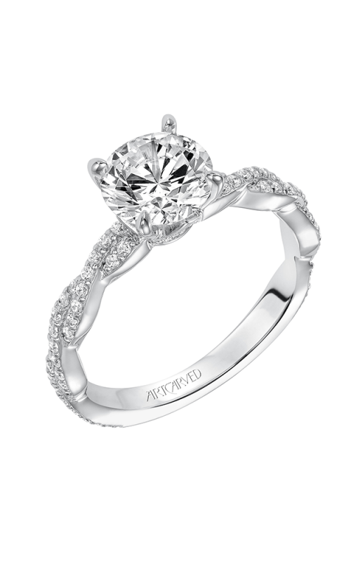 ArtCarved Contemporary Engagement ring 31-V575GRW-E product image