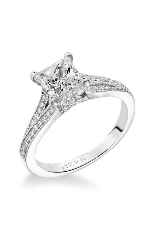 ArtCarved Contemporary Engagement ring 31-V604GCW-E product image
