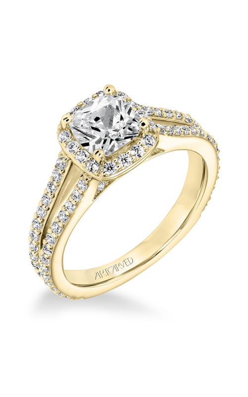 ArtCarved Classic Engagement ring 31-V646EUY-E product image