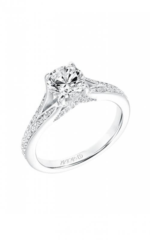 ArtCarved Classic Engagement ring 31-V738ERW-E product image