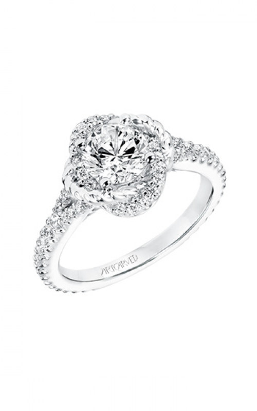 ArtCarved Contemporary Engagement ring 31-V702ERW-E product image