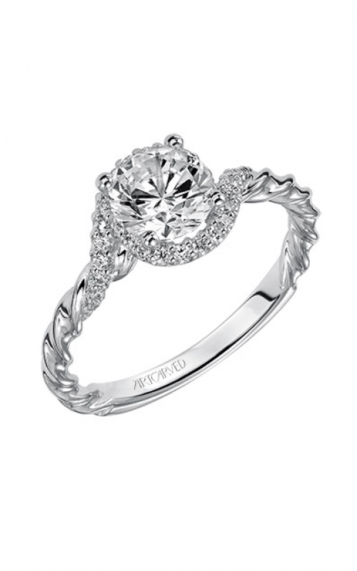 ArtCarved Contemporary Engagement ring 31-V461ERW-E product image
