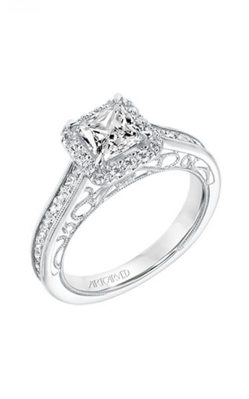 ArtCarved Vintage Engagement ring 31-V719ECW-E product image