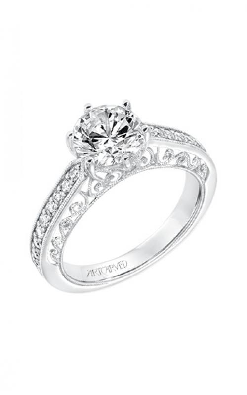 ArtCarved Vintage Engagement ring 31-V724GRW-E product image