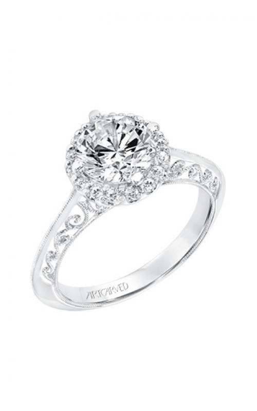 ArtCarved Vintage Engagement ring 31-V729GRW-E product image