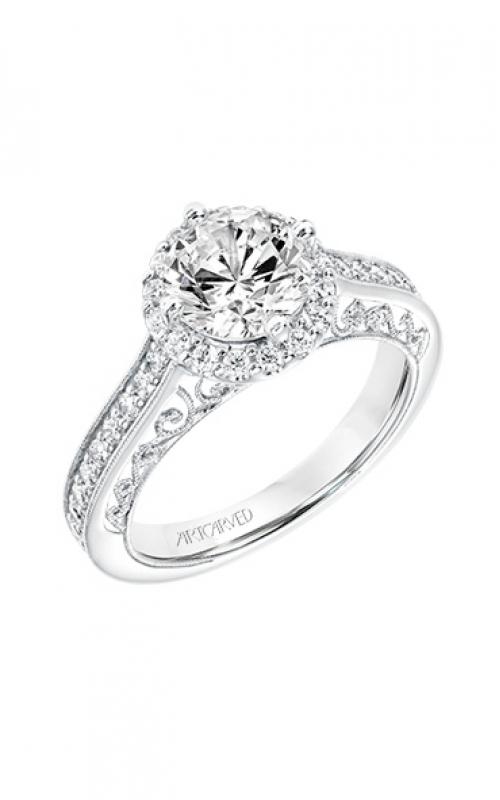 ArtCarved Vintage Engagement ring 31-V731GRW-E product image