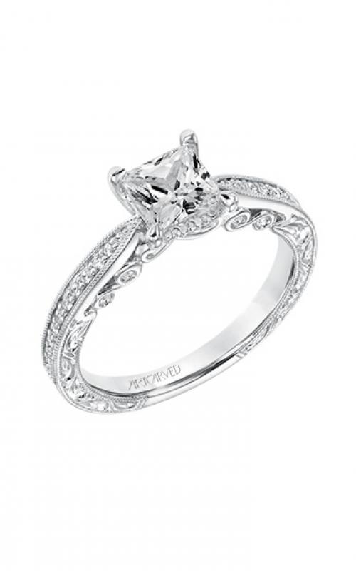ArtCarved Vintage Engagement ring 31-V683ECW-E product image