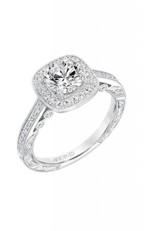 ArtCarved Vintage Engagement ring 31-V686ERW-E product image