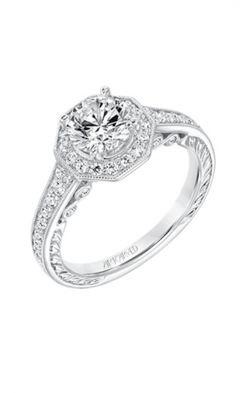 ArtCarved Vintage Engagement ring 31-V687ERW-E product image