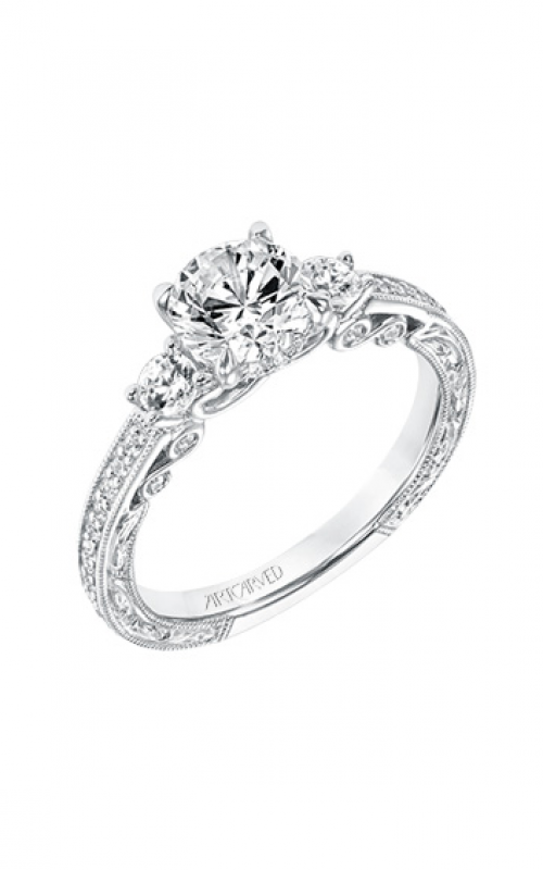 ArtCarved Vintage Engagement ring 31-V688ERW-E product image