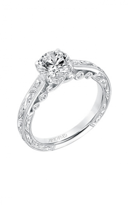 ArtCarved Vintage Engagement ring 31-V692ERW-E product image