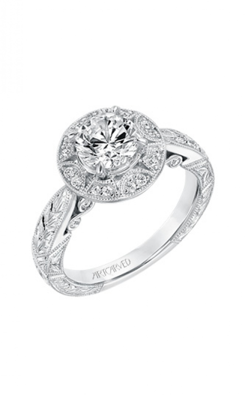 ArtCarved Vintage Engagement ring 31-V695ERW-E product image
