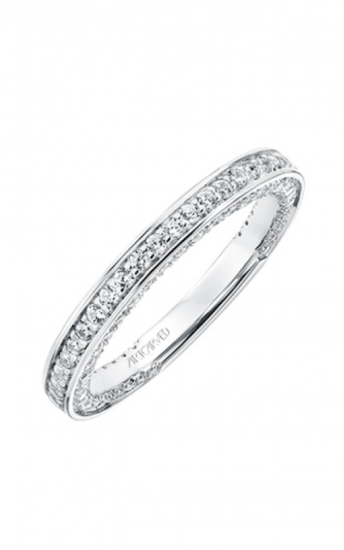 ArtCarved Contemporary Wedding band 31-V714W-L product image