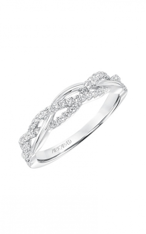 ArtCarved Contemporary Wedding band 31-V682W-L product image