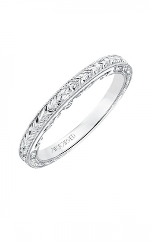 ArtCarved Vintage Wedding band 31-V694W-L product image