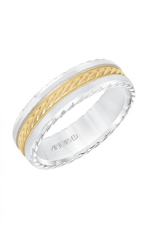 ArtCarved Engraved Wedding band 11-WV8640WY65-G product image