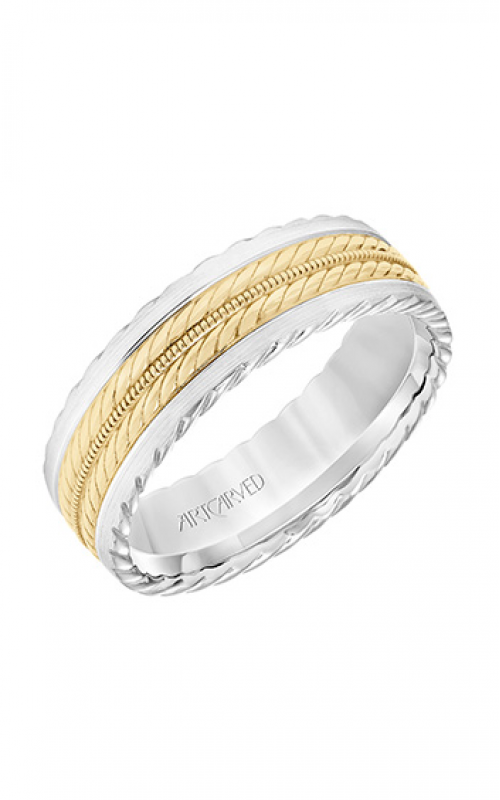ArtCarved Engraved Wedding band 11-WV8726WY7-G product image