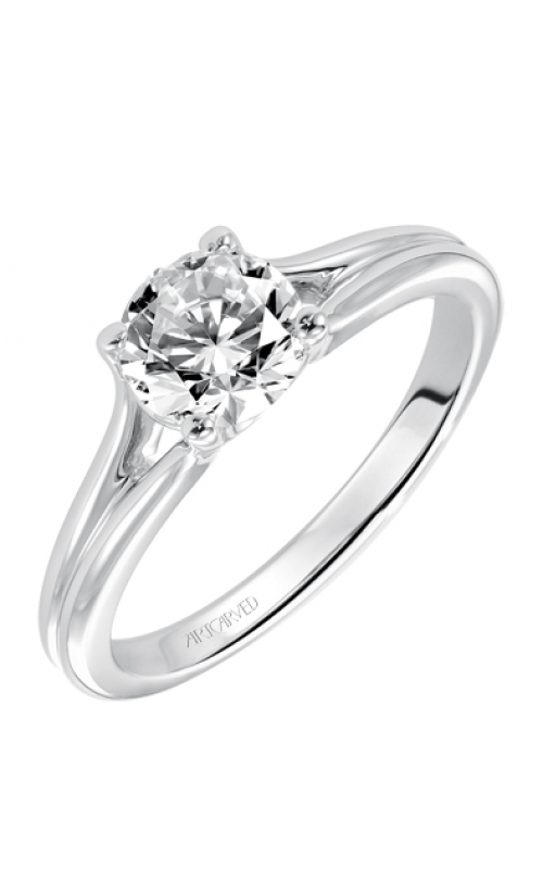 ArtCarved Classic Engagement ring 31-V408ERW-E product image