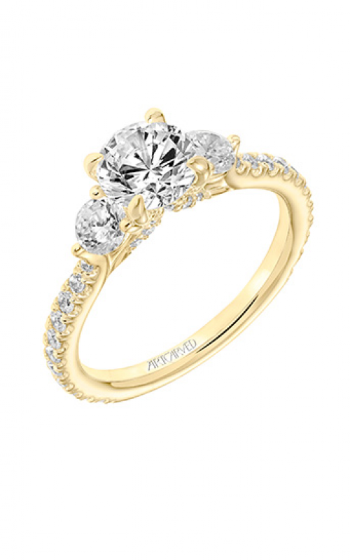 ArtCarved Classic Engagement ring 31-V742ERY-E product image