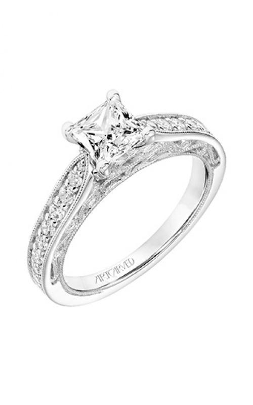 ArtCarved Vintage Engagement ring 31-V760ECW-E product image
