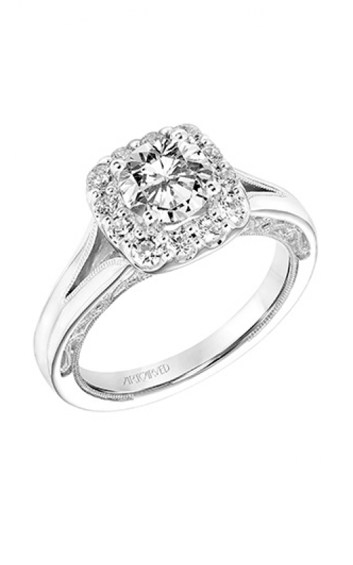 ArtCarved Vintage Engagement ring 31-V766ERW-E product image