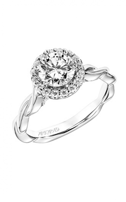 ArtCarved Contemporary Engagement ring 31-V770ERW-E product image