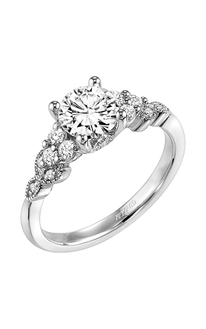 Artcarved ADELINE	 Diamond Engagement Ring 31-V309ERW-E product image