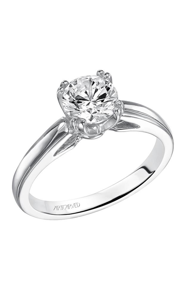 Artcarved DAHLIA Solitare Engagement Ring 31-V120ERW-E product image