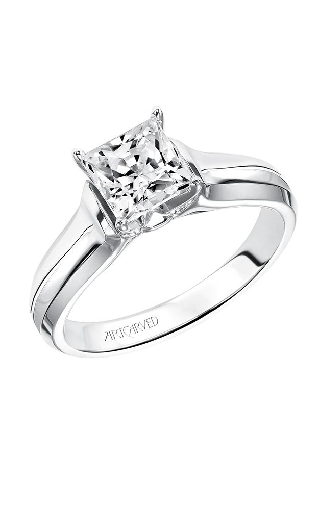 Artcarved DESIREE Solitare Engagement Ring 31-V126FCW-E product image