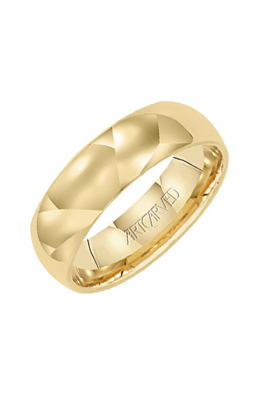 Artcarved 6MM CF LOW DOME WED RING 01-WVLDIR6-G product image