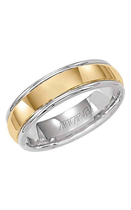 Artcarved HARRISON 6MM 14KT WEDDING RING 11-WV5103-G product image