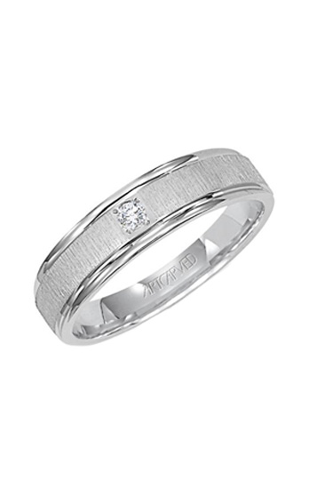 Artcarved ASHFORD 6MM CF DIA WED RING 21-V3105W-G product image