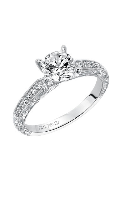 Artcarved JULIE Engagement Ring White Gold 31-V513ERW-E product image