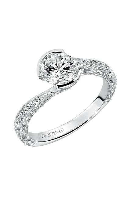 Artcarved RIMA Engagement Ring White Gold 31-V515ERW-E product image
