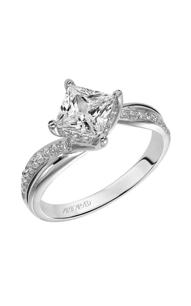 Artcarved STELLA Diamond Engagement Ring 31-V304FCW-E product image