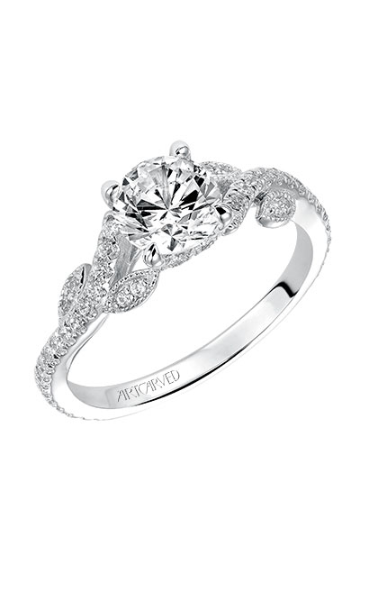 Artcarved MILENA Engagement Ring White Gold 31-V523ERW-E product image
