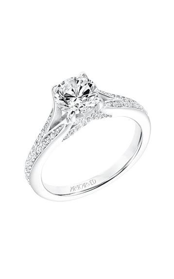 Artcarved Rosalind Engagement Ring 31-V738ERW-E product image