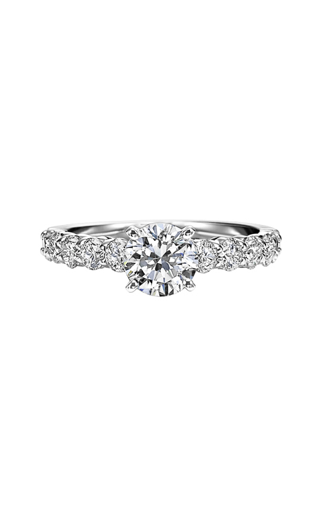 Artcarved  Leah  Diamond Engagement Ring  Engagement Ring  31-V283ERW-E product image